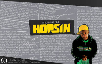 Hopsin Wallpaper manipulation by Ja-Ghraphics