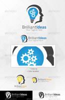 Brilliant Ideas logo Template [Ai,Eps] by Ja-Ghraphics