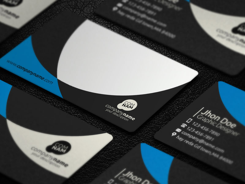 Creative Business Card - 3 - Template [PSD] by Ja-Ghraphics on ...