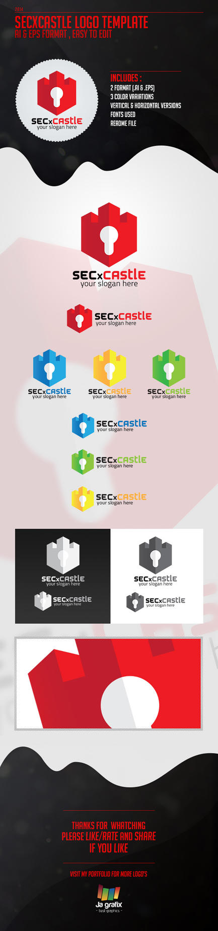 SecxCastle Logo by Ja-Ghraphics
