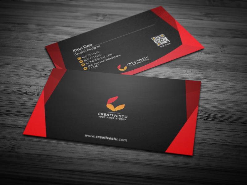 CreativeStu v1 Business Card [PSD] by Ja-Ghraphics