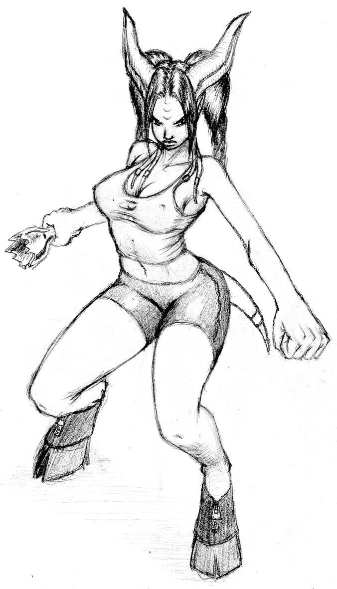 Hetai warrior sketch hentai images