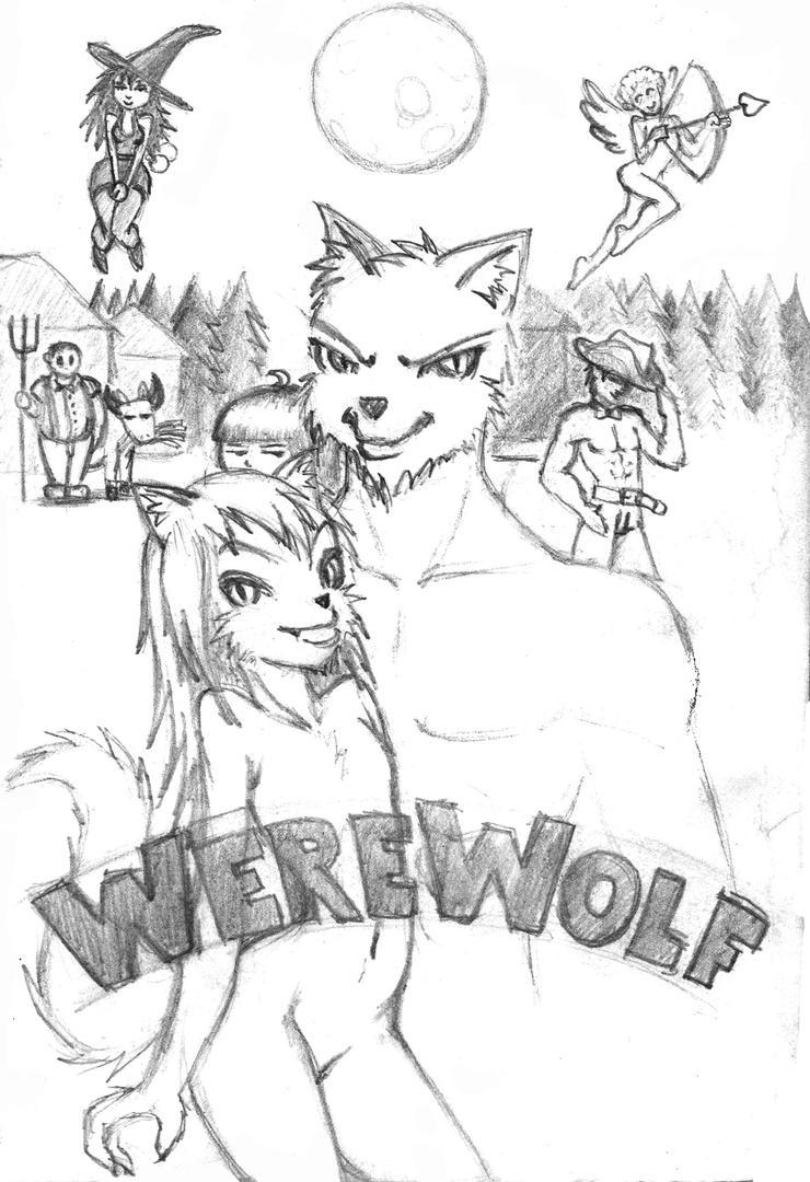 werewolf by Chacartz