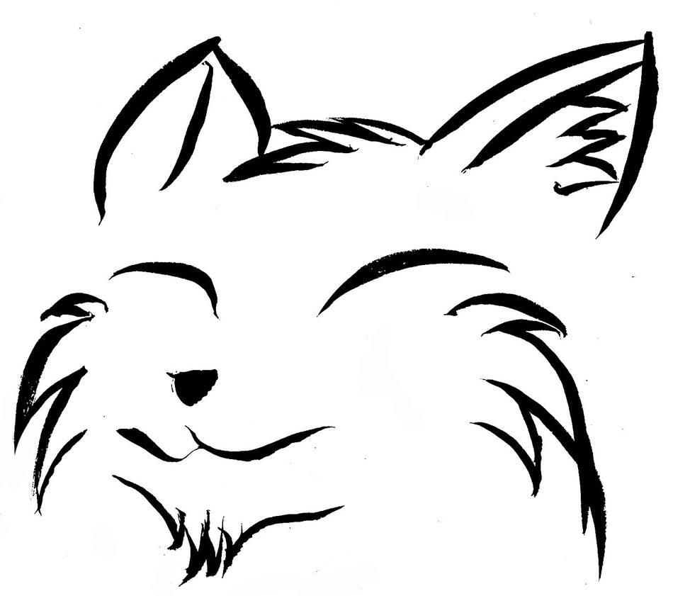 cat head by Chacartz