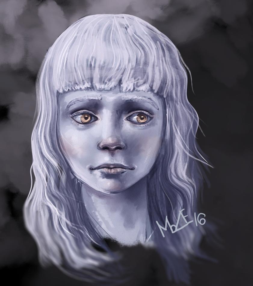 Winter Daughter by MarianneEie
