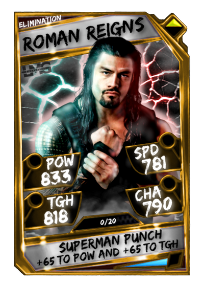 Panasonic Slow Juicer Harvey Norman : WWE SuperCard Custom Card - Roman Reigns. by lewiy22 on DeviantArt