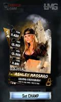 WWE SuperCard Custom Card - Ashley Massaro