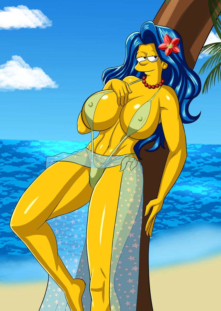 Was marge big boobs naked that