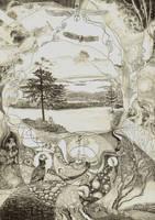Jean Sibelius' music by aqualumen