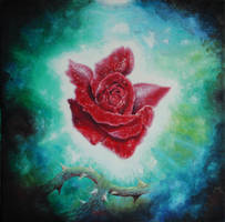 Love breaks through the darkness by aqualumen