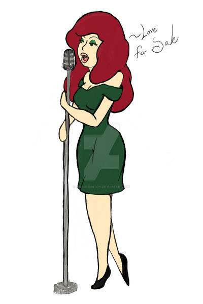 Liza The Lounge Singer by PrincessMitchi