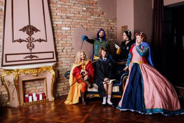 Hogwarts Founders Cosplay