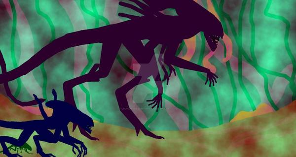 Xenomorph Life Cycle pt 2 (Video Thumbnail) by LPUfantsr96pithaya