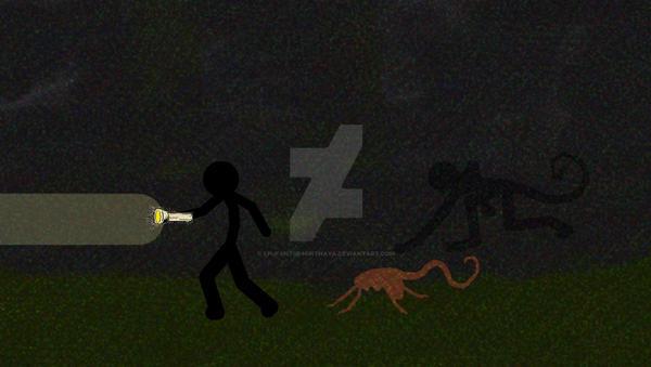 TSR chasing PivotMasterRO (Lurking in shadows) by LPUfantsr96pithaya
