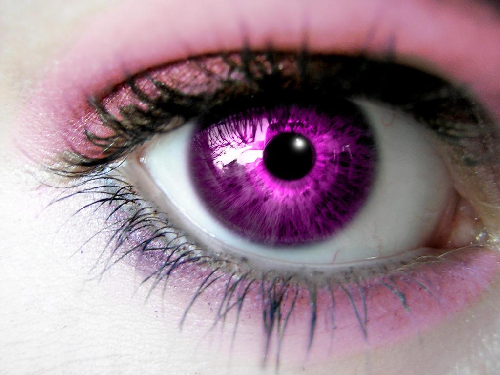 Violet Eye by aelleg on DeviantArt