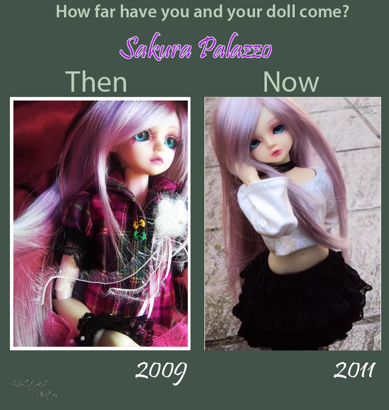 Dolly Update Meme - Sakura by AidaOtaku-BJD