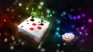 Minecraft Cake by DVD-Lesher