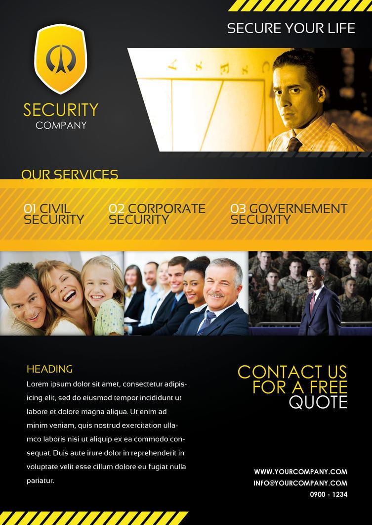 security sample flyer by natej25 on deviantart