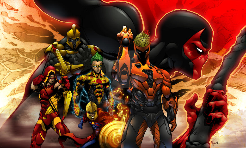 DCUO Poster 4 commish by NateJ25