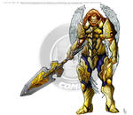 Lion Warrior Concept