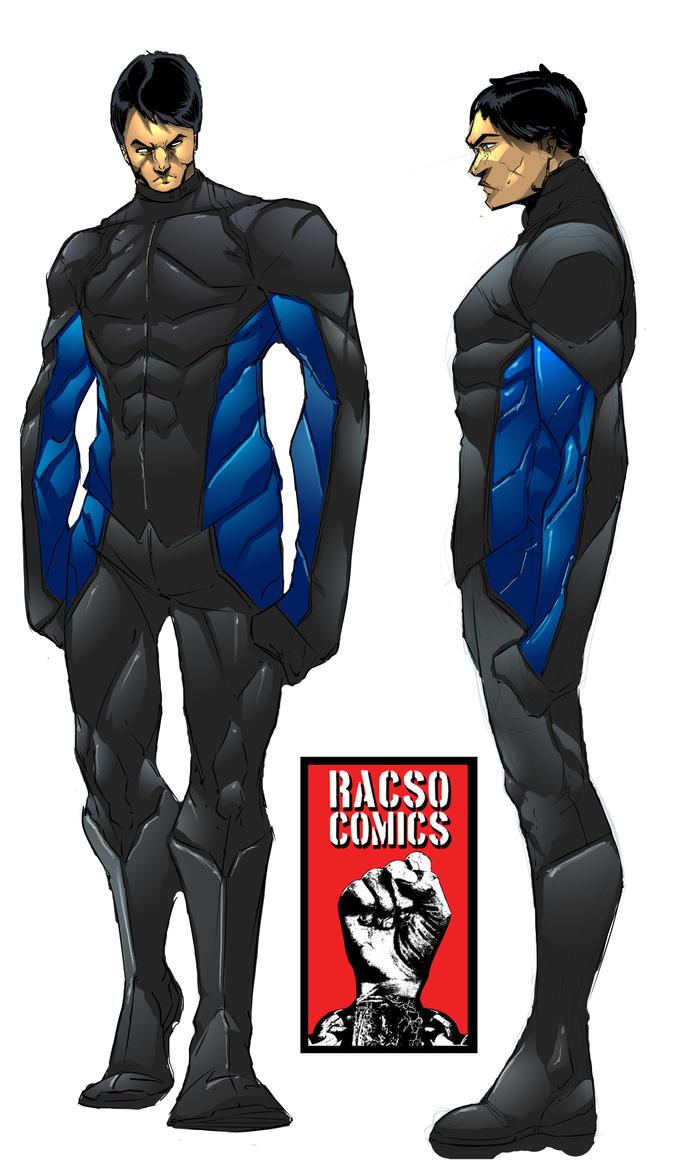 Rasco Comics Costume Design by NateJ25