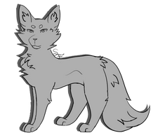 P2U cat lineart (updated !)