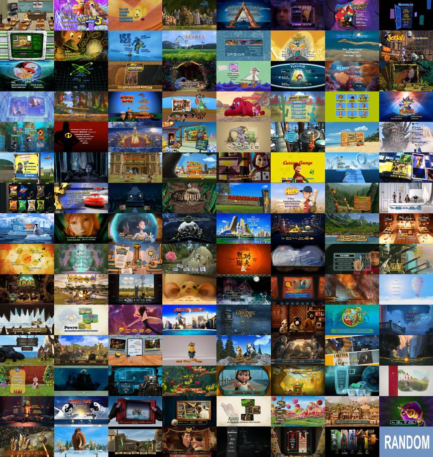 119 Animated Bliss Dvd Menu Collage By Zielinskijoseph On Deviantart