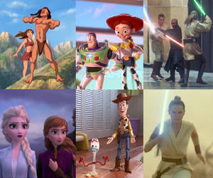 Happy 20th anniversary of Disney 1999-2019 by zielinskijoseph