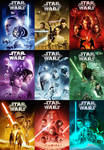Star Wars Ennealogy DVD set