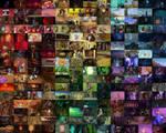 2005 Rainbow collage