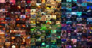 2006 Rainbow Collage