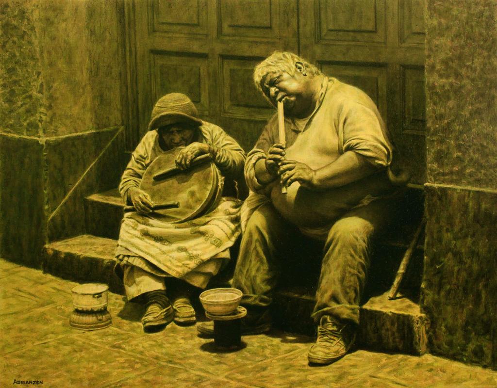 Street Musicians by ManuelAdrianzen