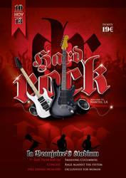 Hard Rock Concert Flyer by n2n44