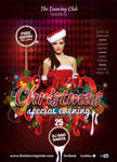 Flyer Dancing Club Special Christmas Eve by n2n44