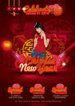 Flyer Celebrate Chinese New Year 2014
