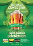 Flyer Saint Patrick Day Celebration