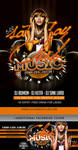 Club And Music Good Beat Flyer Template by n2n44