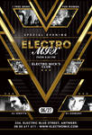 Special Evening Electro Mix Party In Club Flyer by n2n44