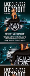 Like Curves In Detroit Motor Show by n2n44