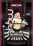 Sexy Burlesque Show In Club Flyer Template by n2n44