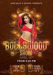 Bollywood Dancing School Show Flyer by n2n44