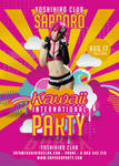 Kawaii International Party In Japan Club Flyer by n2n44