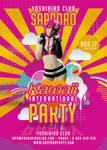 Kawaii International Party In Japan Club Flyer by n2n44