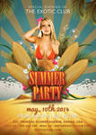 Summer Party In The Exotic Club