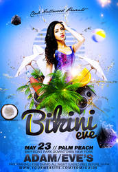 Bikini Eve Party Flyer Template by n2n44