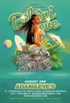 Summer Party Flyer Bikini Eve Flyer by n2n44