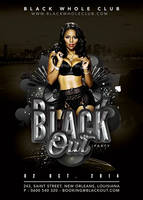 Black Out Party In Whole Black Club by n2n44