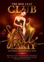 Annual Fall Autumn Party In Club by n2n44