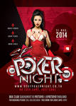 Sexy Poker Night Party In Club Flyer Template by n2n44