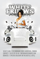 White Fridays Party In Club by n2n44